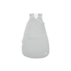 Nordic Coast Company Babyschlafsack, Baby-Schlafsack mitwachsend & atmungsaktiv I Kinderschlafsack waschbar I leichter Schlafsack I Baumwolle I Unifarben