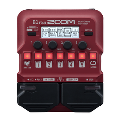 Zoom B1 Four Bass Multieffekt Prozessor