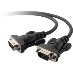 Belkin VGA Monitor-Ersatzkabel 2m Video-Kabel, D-SUB DE-15, VGA (200 cm)