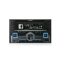 ALPINE Audio-System (Alpine CDE-W296BT - 2 Din AutoRadio inkl. Bluetooth)