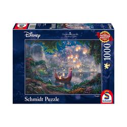 Schmidt Spiele Puzzle Puzzle 1000 Teile Thomas Kinkade Disney Rapunzel, Puzzleteile