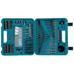 MAKITA Bohrer-Bit-Set D-47260, (200-tlg.) blau