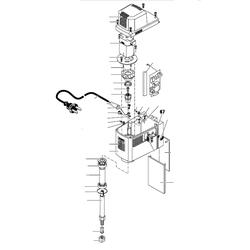 PROXXON 27110-67 Achse für Micro-Fräse MF 70