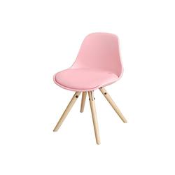 SoBuy Stuhl FST46 Kinderstuhl Stühlchen Sitzhocker Sitzhöhe 35cm rosa