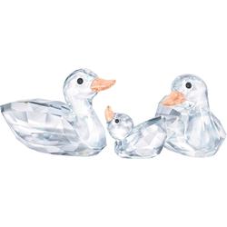 Swarovski Dekofigur Enten, 5376422 (3 Stück), Swarovski® Kristalle