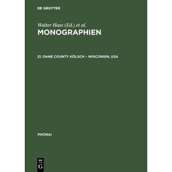 Dane County Kölsch - Wisconsin USA: eBook von
