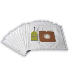 eVendix Staubsaugerbeutel 10 Staubsaugerbeutel Staubbeutel passend für Staubsauger Electrolux Z 2310, passend für Electrolux
