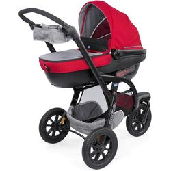 Chicco Kombi-Kinderwagen Trio-System Activ3 Top, Red Berry, mit Regenschutz; Kinderwagen