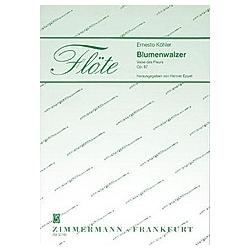Blumenwalzer. Ernesto Köhler  - Buch