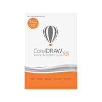 Corel CorelDRAW Home & Student Suite X8 3 User DE Win
