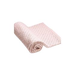 Kinderdecke Stokke® Decke aus Merinowolle, 80x80 cm, Pink, Stokke rosa