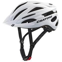 Cratoni Mountainbikehelm MTB-Fahrradhelm Pacer weiß 54/58 - 54 cm - 58 cm