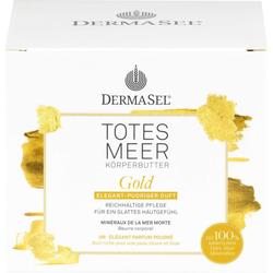 DERMASEL Totes Meer Körperbutter Gold 200 ml