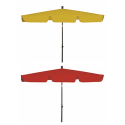 Derby FLORENZ PARAGON Sonnenschirm Balkonschirm 180x120cm rot