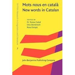 Mots nous en catala / New words in Catalan: eBook von