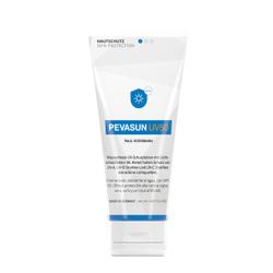 PEVASUN UV50 Hautschutz, Hautcreme zum Schutz vor Sonneneinstrahlung und technischen Strahlungsquellen, 100 ml - Tube