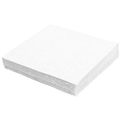 Servietten 33 x 33 cm 1/4 -Falz, 2-lagig weiß,  50 Stk.