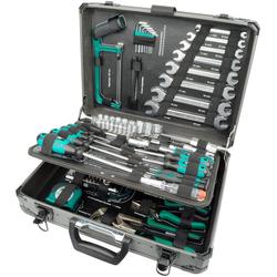 MANNESMANN Werkzeugkoffer 133-tlg. schwarz