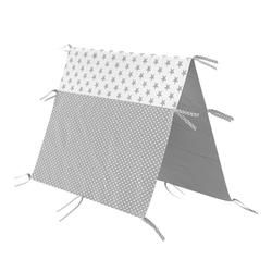 VitaliSpa® Kinderbett Überwurf Kinderbett Indianerzelt für Tipi Bett 70x140cm Zeltbett Zelt 140 cm
