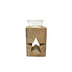 HTI-Line Teelichthalter Teelichthalter Stern