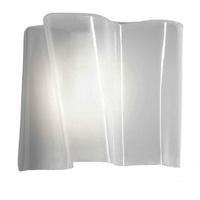 Artemide Lampe 57 W, Seide/Grau