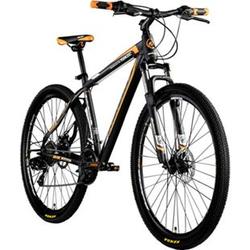 Galano Toxic 29 Zoll Mountainbike Hardtail MTB Fahrrad Scheibenbremsen Shimano Tourney... schwarz/orange