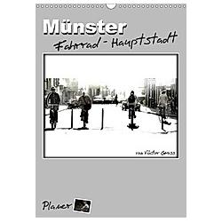 Münster Fahrrad-Hauptstadt / Planer (Wandkalender 2021 DIN A3 hoch)