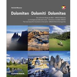 Dolomiten - Dolomiti - Dolomites als Buch von Reinhold Messner