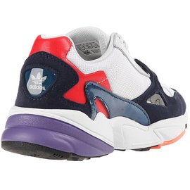 adidas Falcon white-blue-red/ white, 37.5