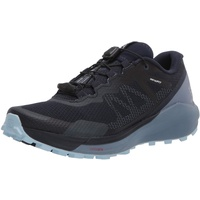 Salomon Sense Ride 3 W, Trailrunning Schuhe Damen navy blazer/flint stone/angel falls