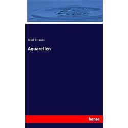 Aquarellen als Buch von Josef Strauss