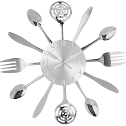 Home affaire Wanduhr Cutlery