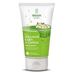 Weleda Kids 2in1 Shower & Shampoo 150ml, Spritzige Limette