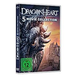 Dragonheart 1-5 - DVD  Filme