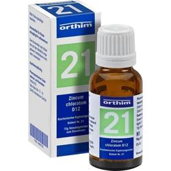 Biochemie Globuli Nr.21 Zincum chloratum D12