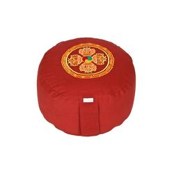 yogabox Yogakissen Glückssitz Doppeldorje rot