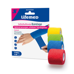 Lifemed Selbsthaftende Bandage