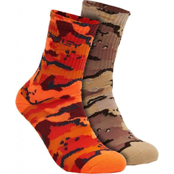 OAKLEY B1B CRAZY CAMO Socken 2021 b1b camo desert - L