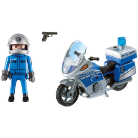 Playmobil City Action Motorradstreife mit LED-Blink