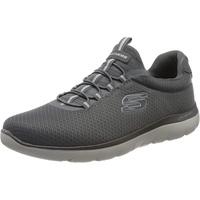 Summits Slip On Sneaker, Grau (Charcoal Mesh/Trim Charcoal), 45 EU