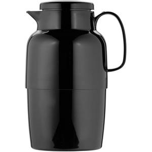 Helios Mondo Kunststoff-Isolierkanne, schwarz, 2 Liter