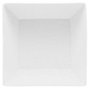 Thomas Porzellan Schale Loft by Rosenthal Weiß Bowl quadr. tief groß, Porzellan, (1-tlg)