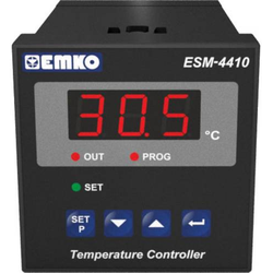 Emko ESM-4410.5.10.0.1/00.00/2.0.0.0 2-Punkt-Regler Temperaturregler K 0 bis 999°C Relais 7A (L x B