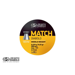 JSB Match Diabolo M cal. 4,5mm (.177)