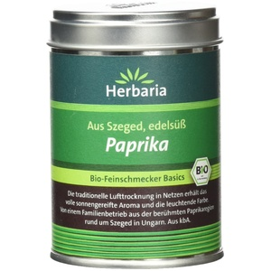 Herbaria Paprika edelsüss, 1er Pack (1 x 80 g Dose) - Bio