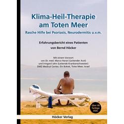 Klima-Heil-Therapie am Toten Meer: Buch von Bernd Höcker