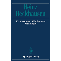 Heinz Heckhausen als Buch von