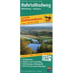 Ruhrtal-Radweg 1 : 50 000