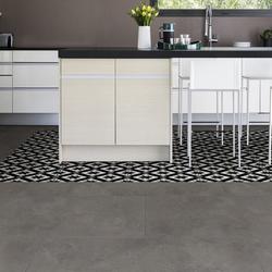 Gerflor Vinylboden - Senso Premium Easy Cordoba Black - Selbstliegender Vinylboden mit geprägter Oberfläche