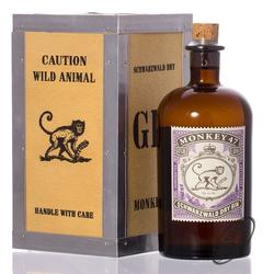 Monkey 47 Dry Gin in Holzkiste 47% vol. 0,50l